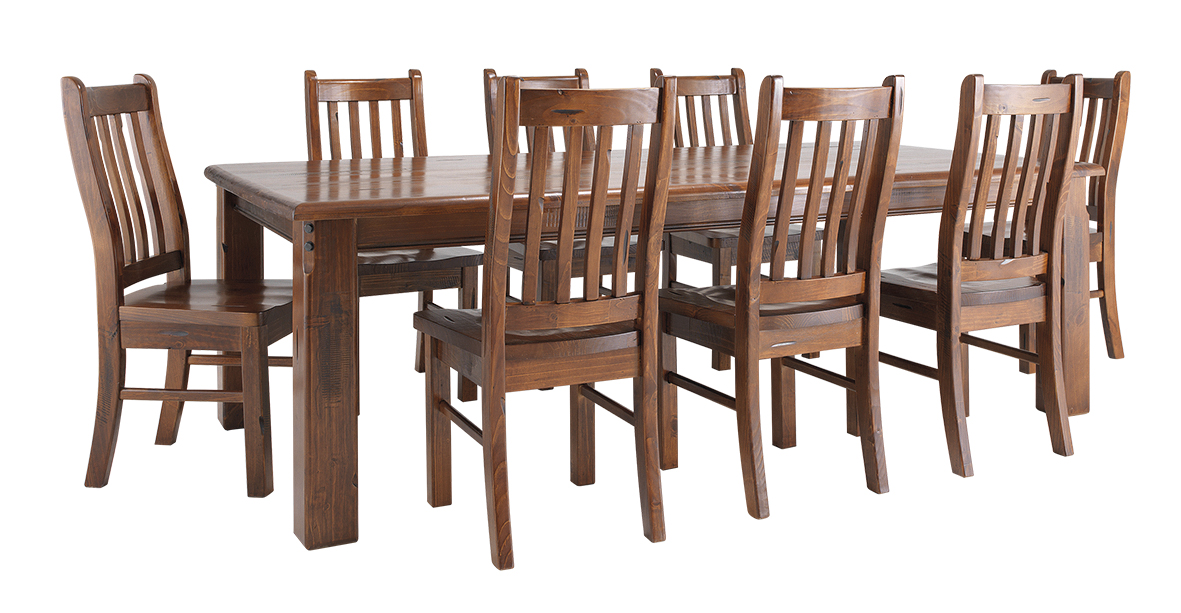 Jamaica piece dining suite warrnambool knock on wood